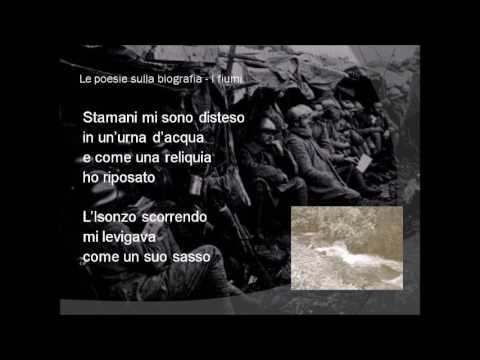 I fiumi di Giuseppe Ungaretti