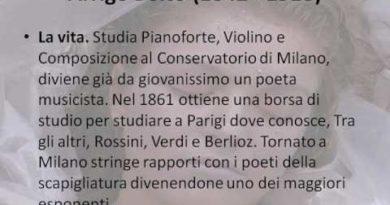 Lezione d'anatomia di Arrigo Boito vv. 1-39