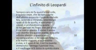 L'infinito di Leopardi