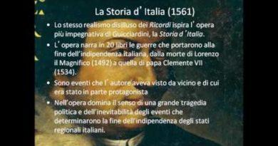 La Storia d'Italia di Francesco Guicciardini