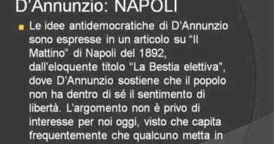 Gabriele D'Annunzio. Vita e opere