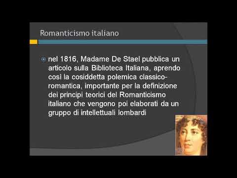 Romanticismo italiano