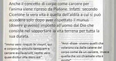 Capitoli 14 e 15 del Somnium Scipionis di Cicerone