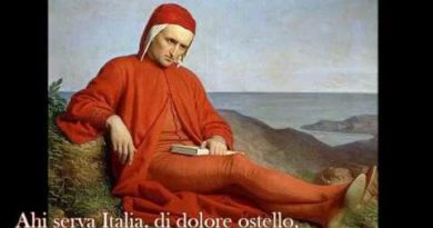 7 Ahi serva Italia Divina … la musica di Dante