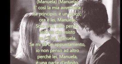 Manuela cover lyrics Jul'io Iglesias