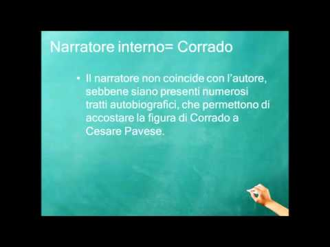 """""""Il narratore nel romanzo """"""""La casa in collina"""""""" di Cesare Pavese"""""""