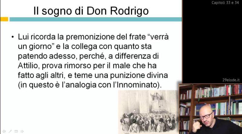 Il sogno di Don Rodrigo – Videocorso su I Promessi sposi – 29elode