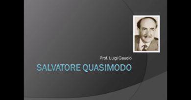 Uomo del mio tempo di Salvatore Quasimodo