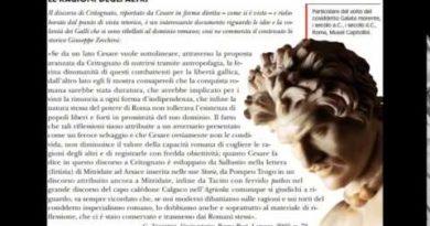 Il discorso di Critognato De bello gallico VII 77