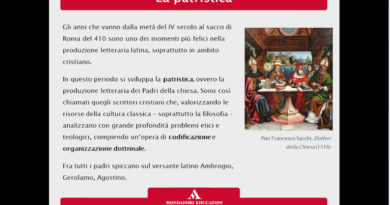 La patristica e Ambrogio