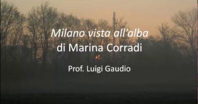 Milano vista all'alba di Marina Corradi