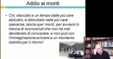 Addio ai monti – Videocorso su I Promessi Sposi – 29elode.it