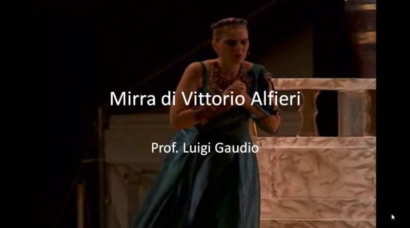 Mirra di Vittorio Alfieri