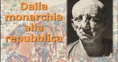 Dalla monarchia alla repubblica romana