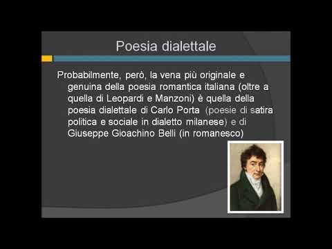 La poesia dialettale di Giuseppe Gioachino Belli