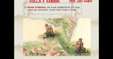 Le sirene. Scilla e Cariddi. Odissea XII vv. 165-259