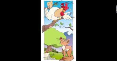Il gallo e la volpe di Jean de la Fontaine