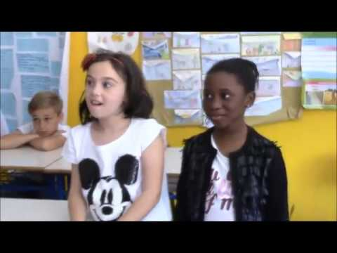 Il Cantastoria nella classe 3B Scuola Primaria San Gimignano