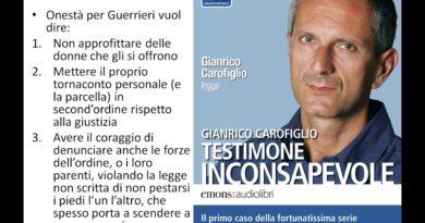 Testimone inconsapevole di Gianrico Carofiglio