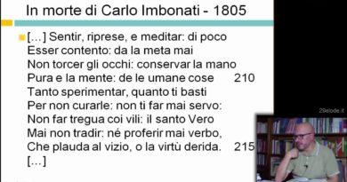 Alessandro Manzoni – Biografia – I primi anni – Videolezioni di Letteratura dell'Ottocento – YouTube
