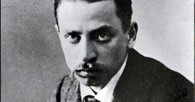 Un uomo di carattere. Schizzo di Rainer Maria Rilke