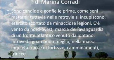 Semplicemente a guardare queste nuvole di Marina Corradi