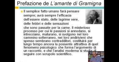 """""""Letteratura Italiana dell'800 – Giovanni Verga e Prefazione de """"""""L'amante di Gramigna"""""""""""""""