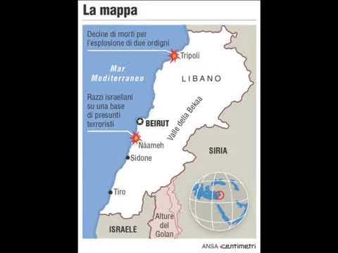 Libano speranza dell'oriente di Luigi Gaudio