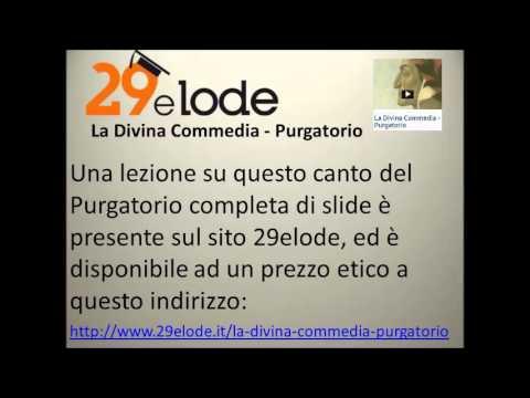 Il sesto canto del Purgatorio di Dante vv. 19-78