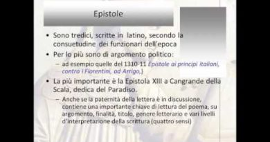 Le Epistole di Dante
