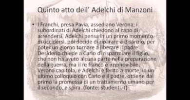 Quinto atto dell'Adelchi di Manzoni