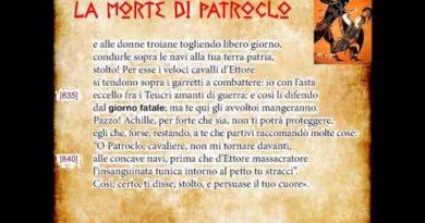 La morte di Patroclo Iliade Libro XVI vv. 805-857