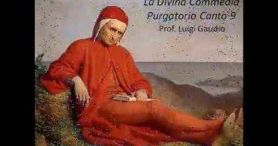 Canto IX del Purgatorio vv. 103-145