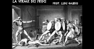 La strage dei proci Odissea XXII vv. 1-88