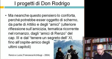 I progetti di Don Rodrigo – Videocorso su I Promessi Sposi – 29elode.it