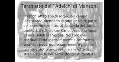Terzo atto dell'Adelchi di Manzoni