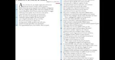 Il duello e la morte di Ettore Iliade 22 vv. 247-371