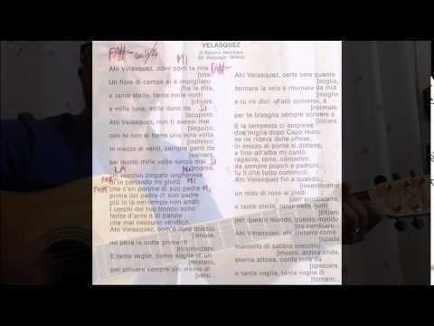 Ahi Velasquez – cover di Roberto Vecchioni