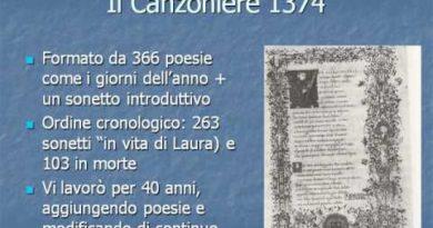 Il canzoniere di Petrarca