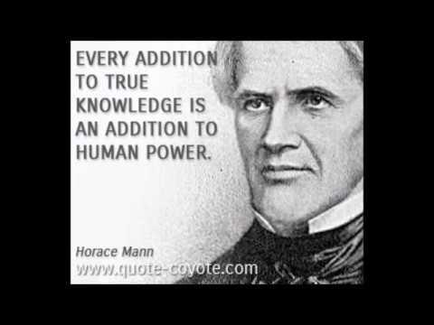 L'istruzione pubblica per Horace Mann