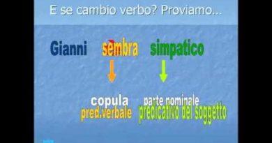 La frase minima la frase espansa i sintagmi il predicato verbale e il predicato nominale