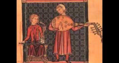 La musica nel medioevo con esecuzione di alcune canzoni