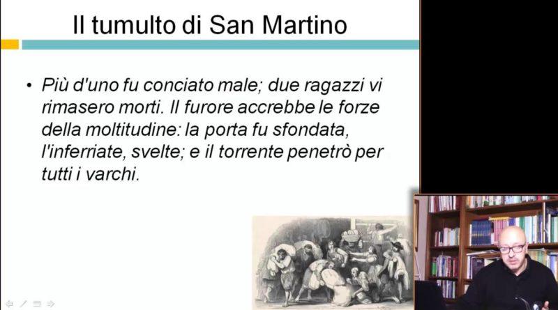 Tumulto di San Martino – Videocorso su I Promessi Sposi – 29elode.it