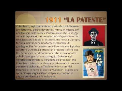 La patente di Luigi Pirandello