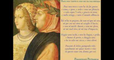 Pace non trovo et non o' da far guerra di Petrarca