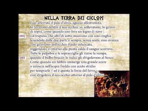 Nella terra dei ciclopi seconda parte. La vendetta Odissea IX vv. 336-414