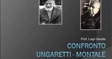 Confronto tra Ungaretti e Montale