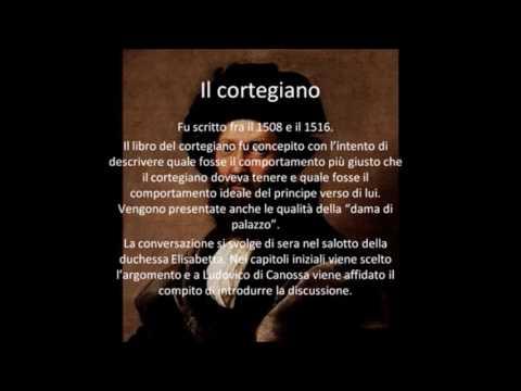 Il Cortegiano di Baldassarre Castiglione