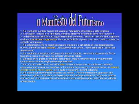 Il manifesto del Futurismo