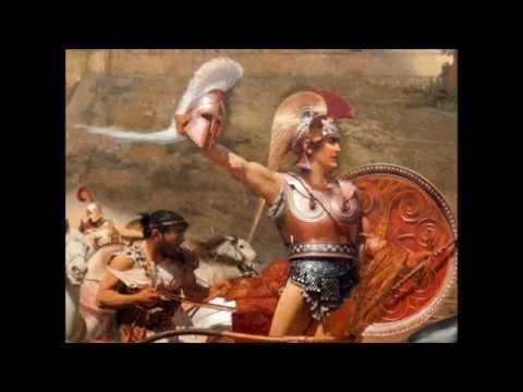 Ettore veste le armi di AchilleLibro XVII dell' Iliade vv.183-236